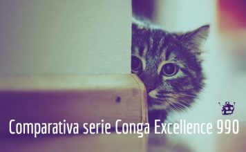 comparativa serie conga excellence 990