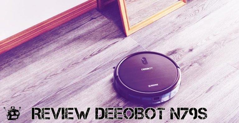 REVIEW ECOVACS ROBOTICS DEEBOT N79S